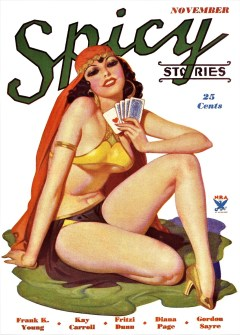 SPICY STORIES - November 1934