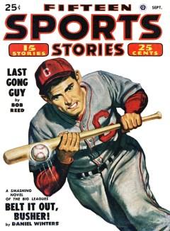 FIFTEEN SPORTS STORIES - September 1949