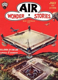 AIR WONDER STORIES - July 1929
