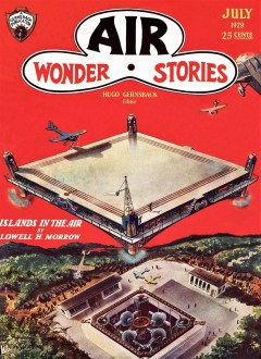 read AIR WONDER STORIES - first issue, July 1929