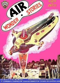 AIR WONDER STORIES - March 1930