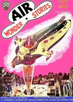 AIR WONDER STORIES - March 1930