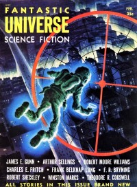 FANTASTIC UNIVERSE - February 1955