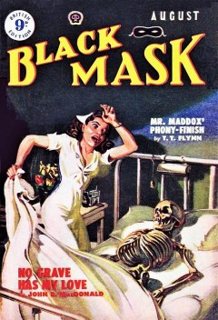BLACK MASK - UK EDITION, August 1950