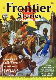 FRONTIER STORIES magazine - Summer 1939