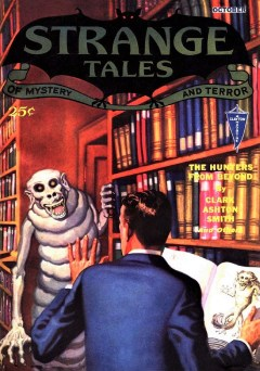 STRANGE TALES OF MYSTERY AND TERROR - October 1932
