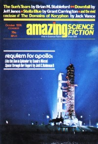 AMAZING SCIENCE FICTION - October 1974