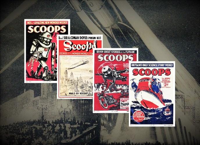 SCOOPS MAGAZINE 1934