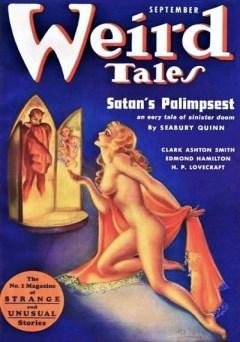 WEIRD TALES - September 1937