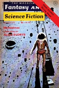THE MAGAZINE OF FANTASY AND SCIENCE FICTION - August 1976