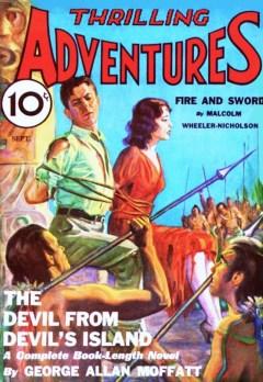 THRILLING ADVENTURES - September 1932