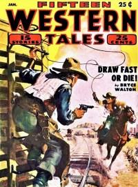 FIFTEEN WESTERN TALES - January 1953
