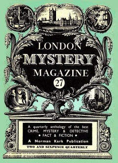 THE LONDON MYSTERY MAGAZINE - December 1955