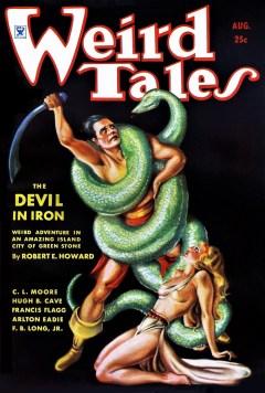 WEIRD TALES - August 1934