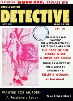 DOUBLE ACTION DETECTIVE MAGAZINE - September 1959