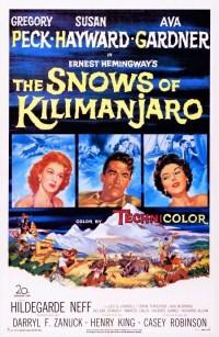 THE SNOWS OF KILIMANJARO - 1952