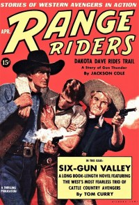 RANGE RIDERS - April 1939