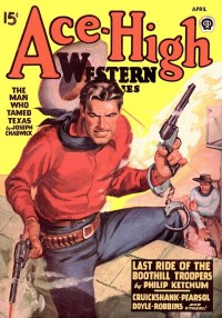 ACE-HIGH WESTERN STORIES - April 1947