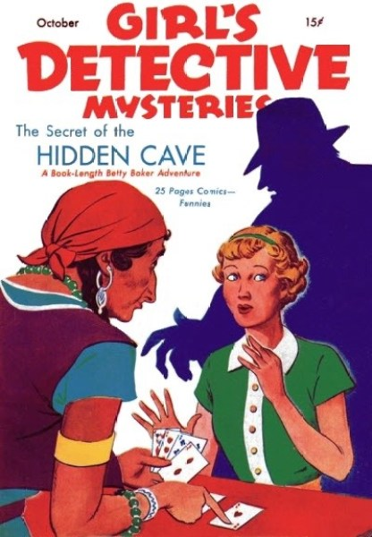 GIRL'S DETECTIVE MYSTERIES - October 1936