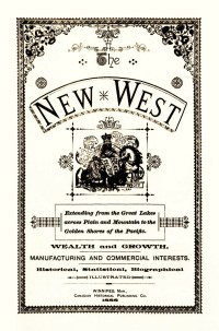 THE NEW WEST - 1888
