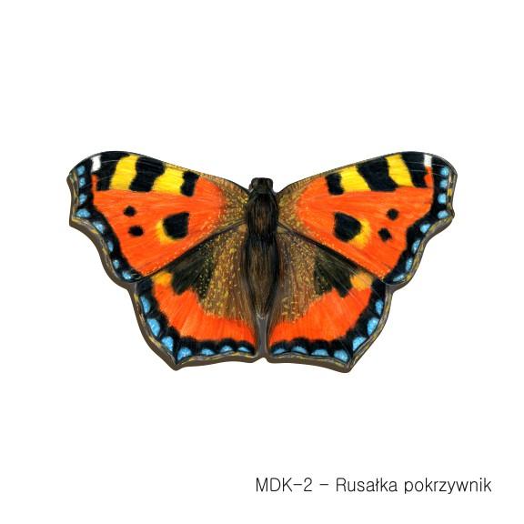MDK-2 - Rusałka pokrzywnik (magnesy drewniane ksztalty)
