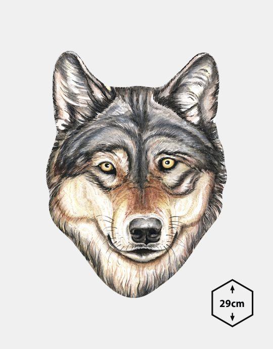 MPPs-16 - Wilk (maski zwierzat)