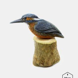 PTD-6 - Zimorodek (figurki modele ptakow, ptaki dekoracyjne, ptaki ozdobne)