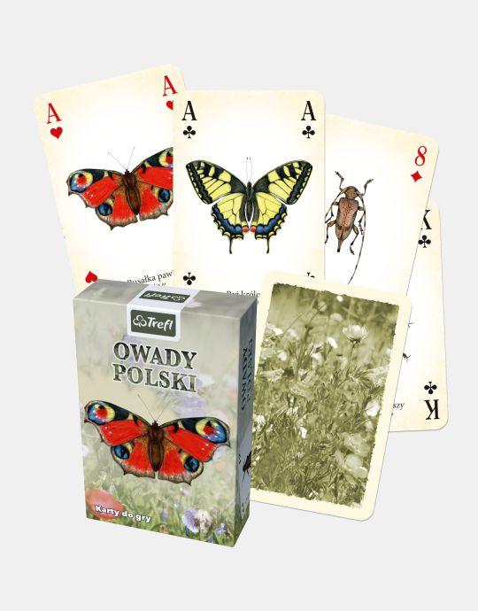 Karty TREFL - Owady polski - 2