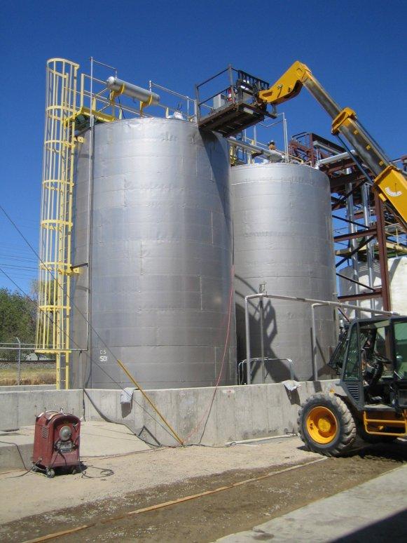 food oil blending equipment