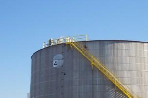 crude oil storage tank mixer