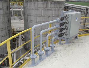 valve cabinet system