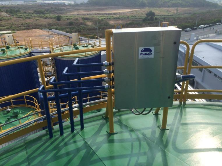 Tank mixing systems