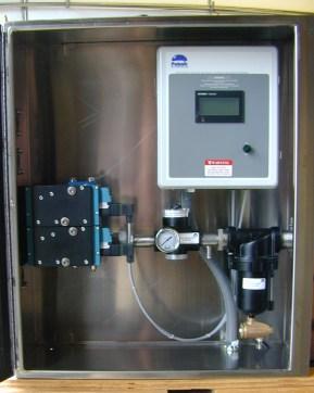 Injection valve enclosure system