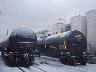 rail tank car mixing heating