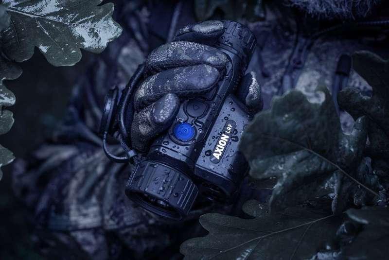 Teszt Axion LRF XQ38 Hőkamera