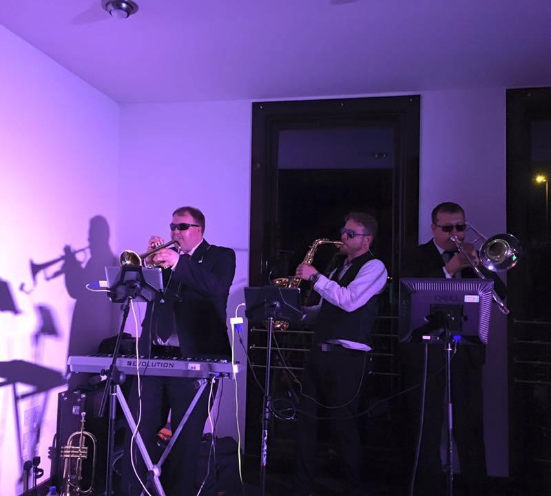 pulse wedding band ayrshire live brass section brig o' doon ayrshire 10-07-15
