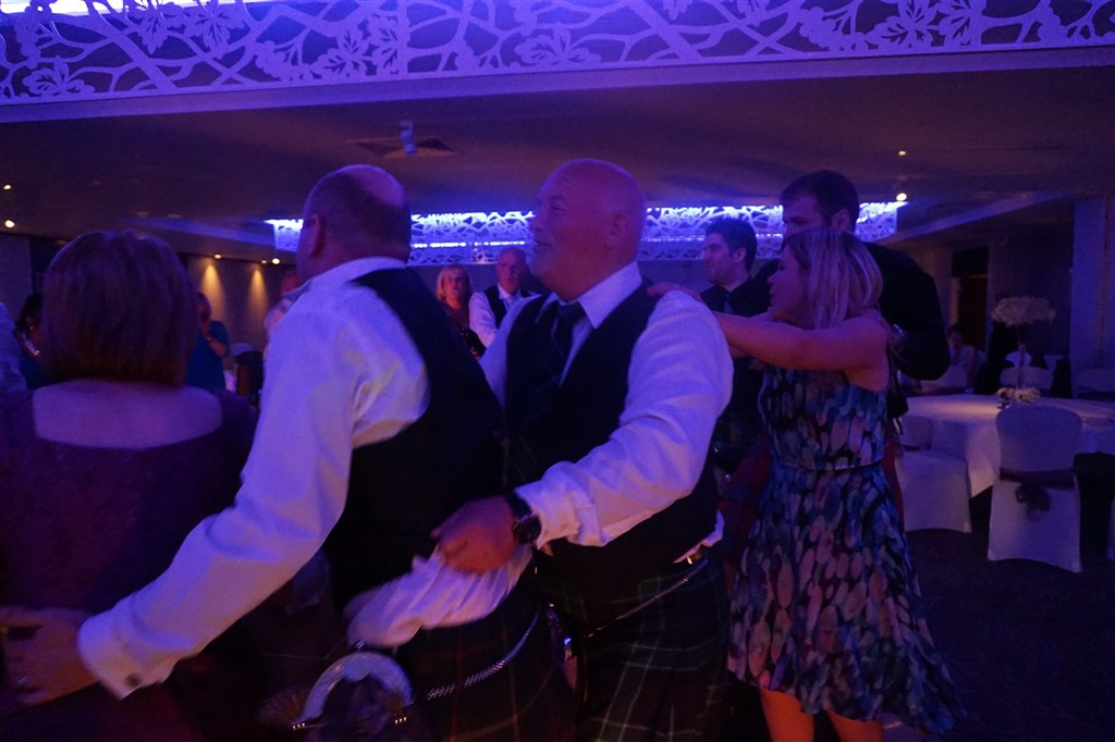 Pulse wedding band at Marriott Dalmahoy near Edinburgh