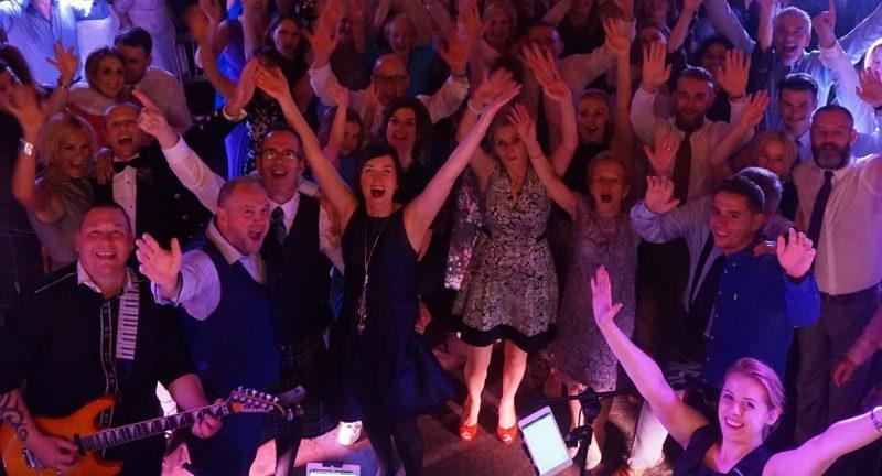 Pulse Wedding Band Play Marlins Wynd Edinburgh