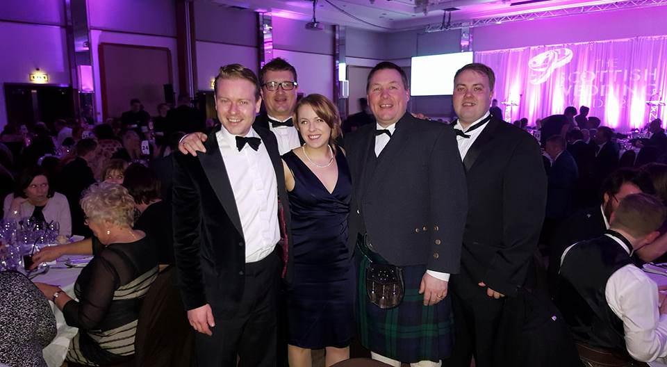 Scottish Wedding Awards Winners Pulse Wedding Band Glasgow & Ayrshire