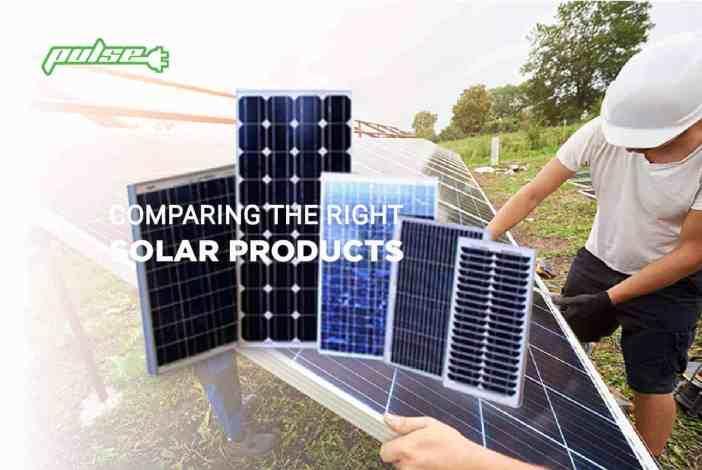 PULSE ELECTRICAL SOLAR PRODUCT COMPARISON QUEENSLAND