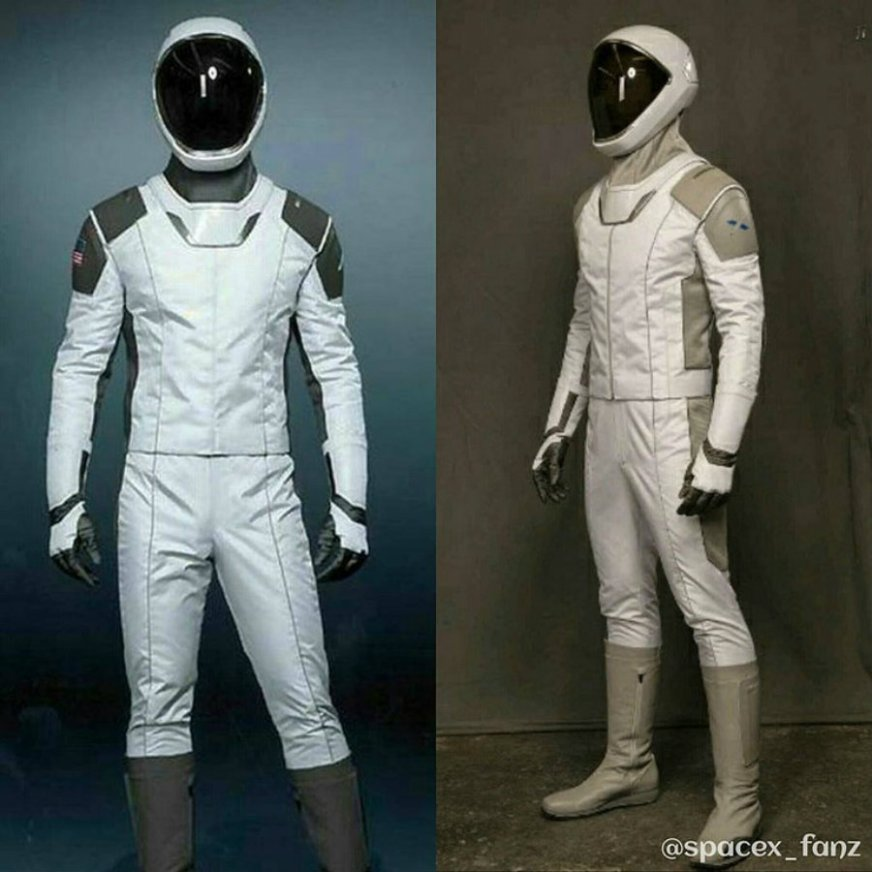SpaceX just released a photo of its new spacesuit