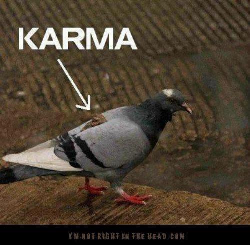 Hukum Karma Berlaku Loh Gaes D Meme Comic Lovers Facebook