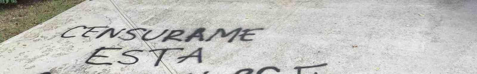 """Siguen los """"pinta y borra"""" entre administración y muralistas"""