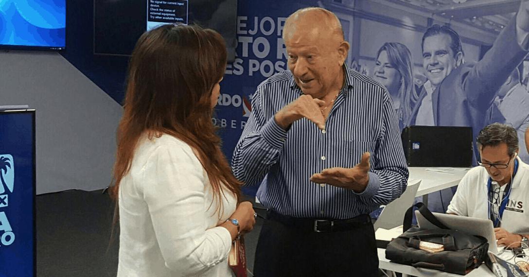 Ramón Luis Rivera padre se expresa sobre Ricardo Rosselló