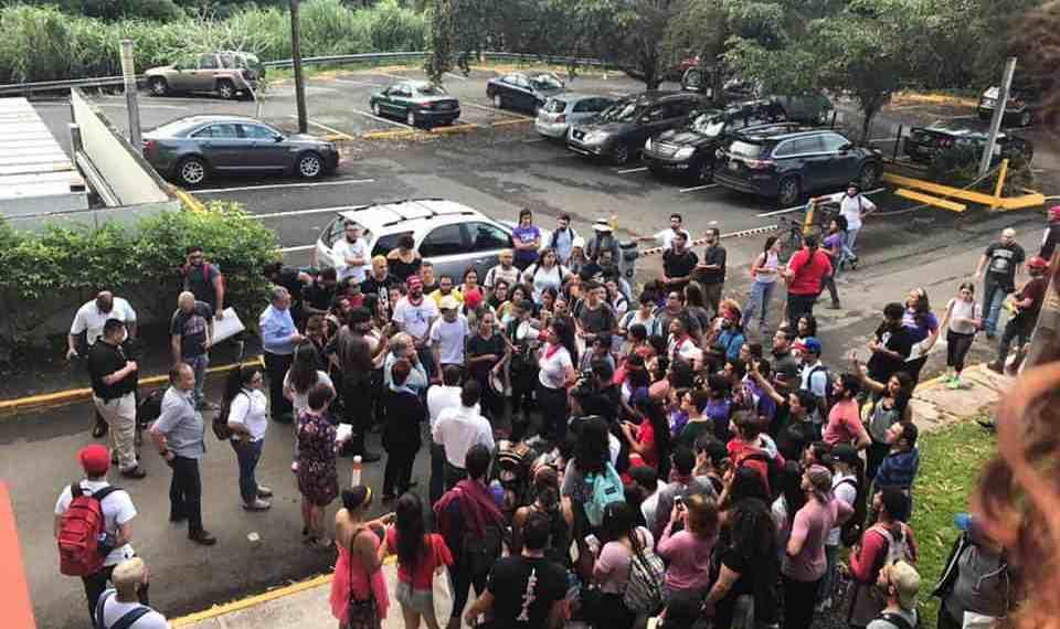 Movimiento estudiantil cuestiona posición de Junta de Gobierno UPR sobre los recortes