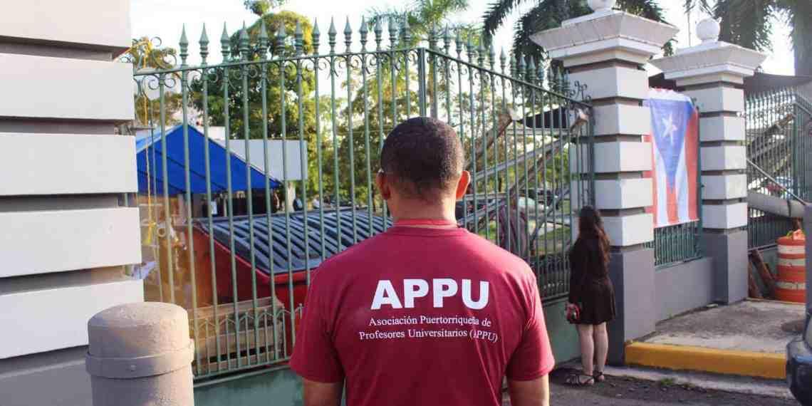 La APPU, capítulo de Río Piedras, rechaza recortes propuestos por la JCF a la UPR