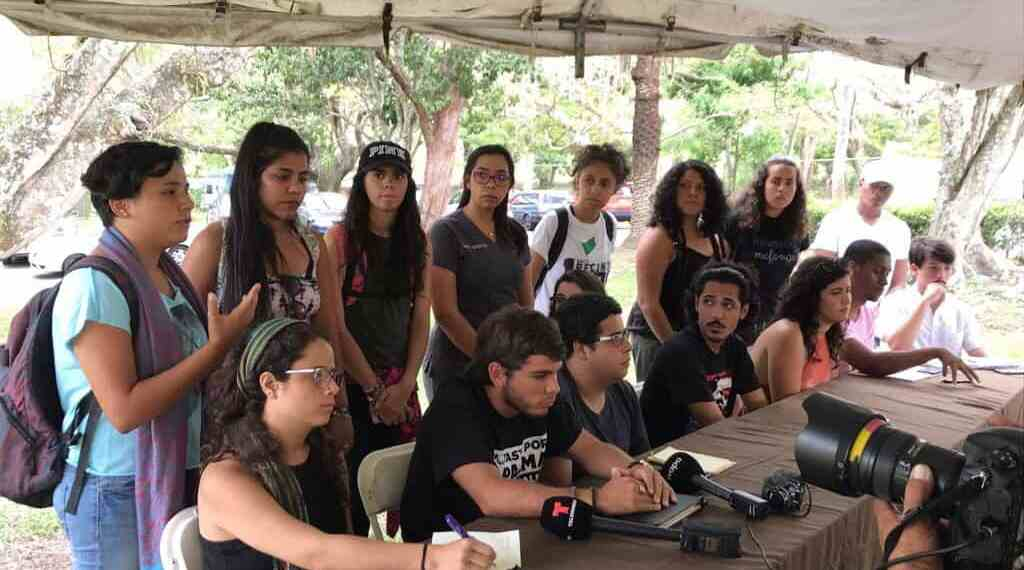 Representantes del movimiento estudiantil UPR convocan a unir fuerzas