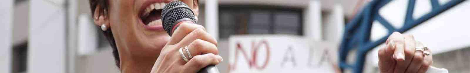 María de Lourdes Santiago repudia enmiendas al Código Penal