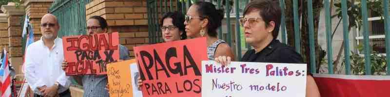 Profesores sin plaza exigen igualdad laboral entre los docentes