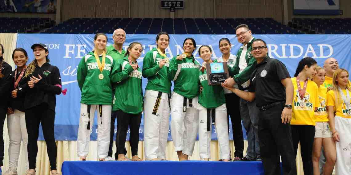 RUM campeón de taekwondo en ambas ramas